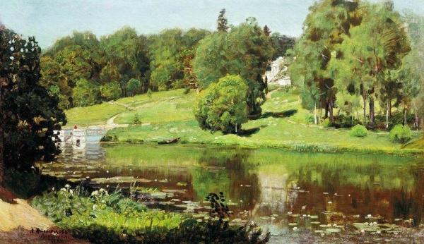 Ахтырка. Вид усадьбы. 1894