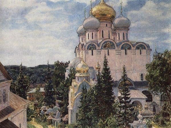 Новодевичий монастырь. Собор. 1926