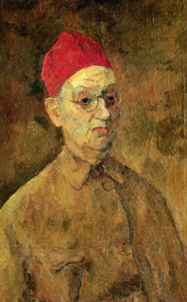Автопортрет в красной феске