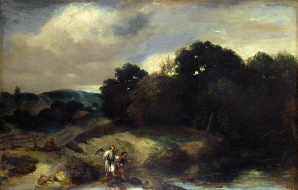 Пейзаж с Тобиасом и ангелом