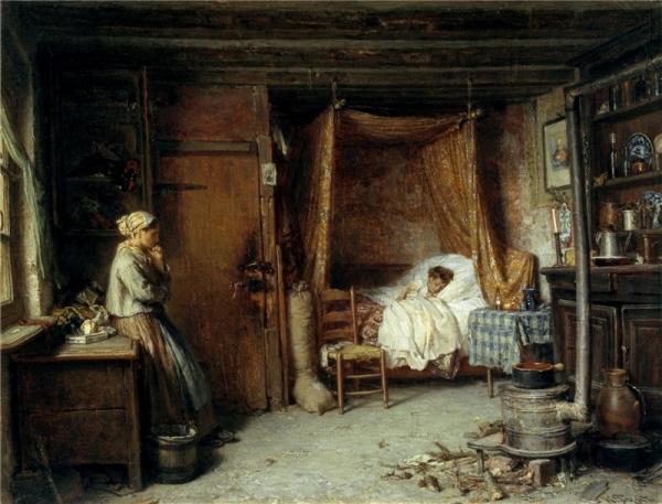 Больное дитя 1869