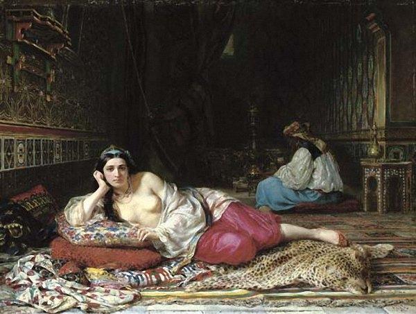 Одалиска 1875