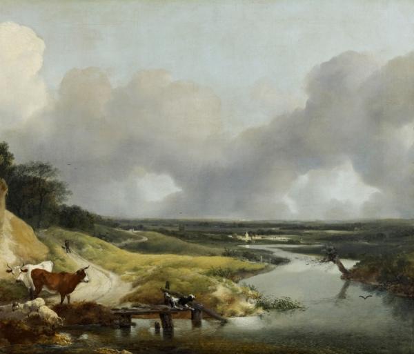 Пейзаж близ деревни Корнард