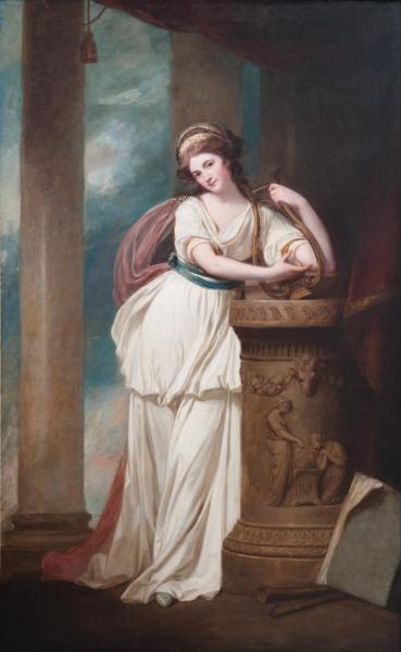 Госпожа Тревор с лирой