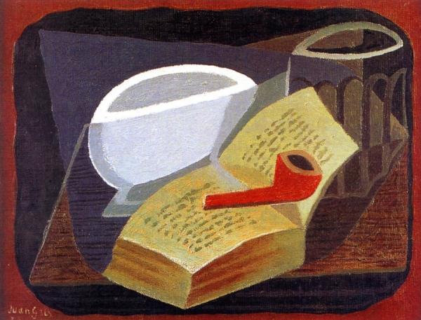 Книга и трубка