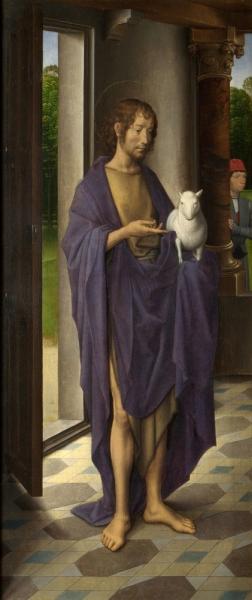 Святой Иоанн Креститель Триптих Донна
