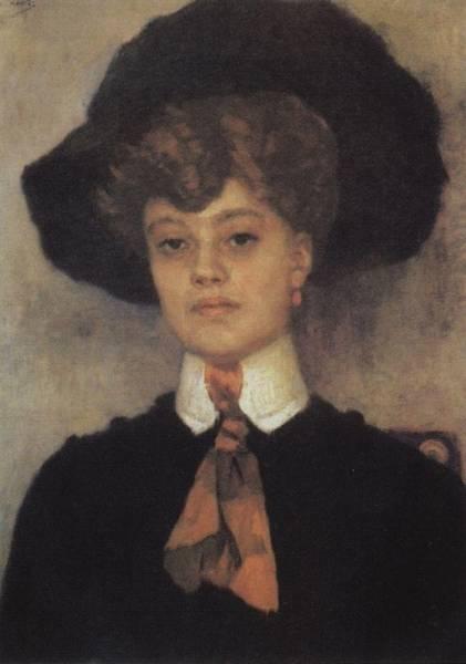 Женский портрет. 1902
