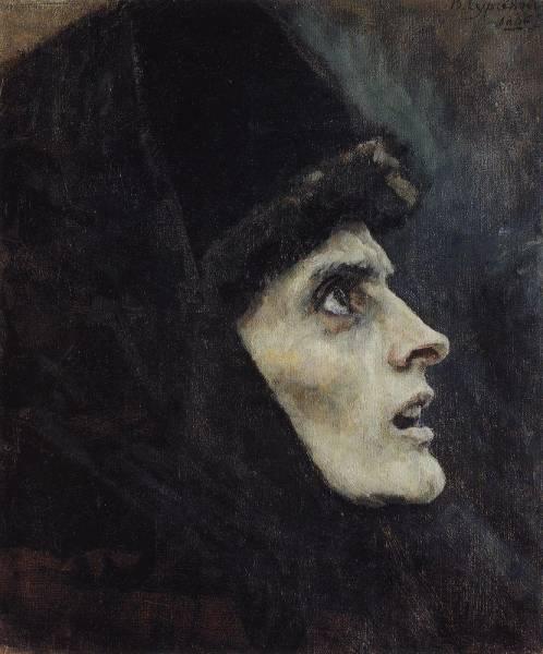 Голова боярыни Морозовой1. 1886