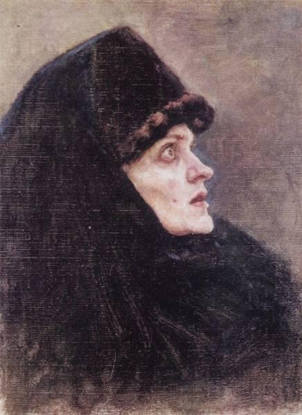 Голова боярыни Морозовой2. 1886