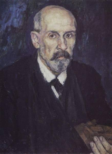 Человек с больной рукой. 1913