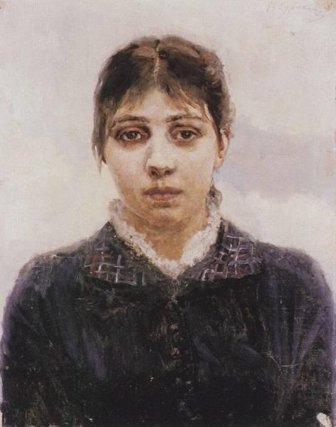 Портрет Е.А.Суриковой. Не позднее 1888
