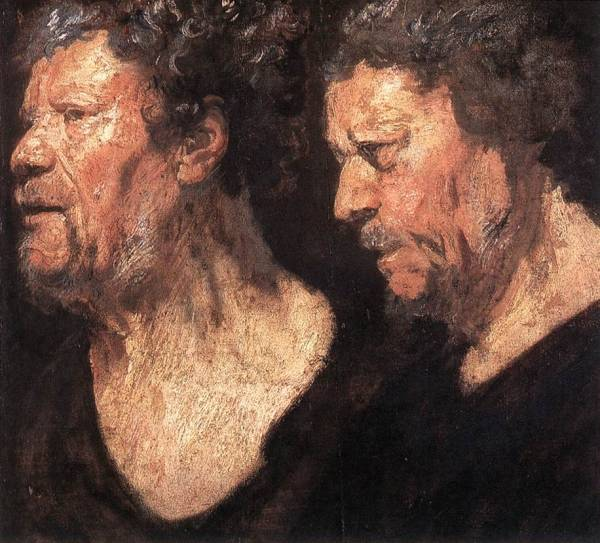 Studies of the Head of Abraham Grapheus