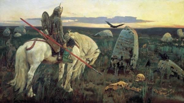 Витязь на распутье. 1882