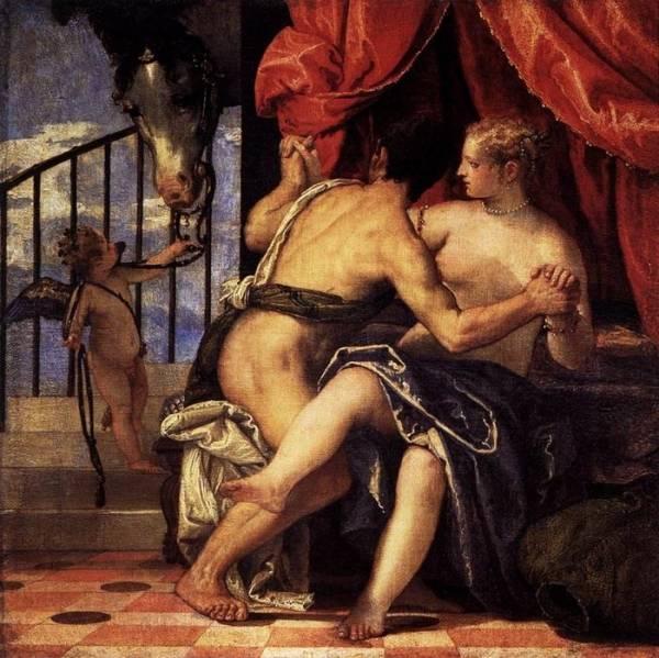 Веронезе. Венера, Марс и Амур с конём