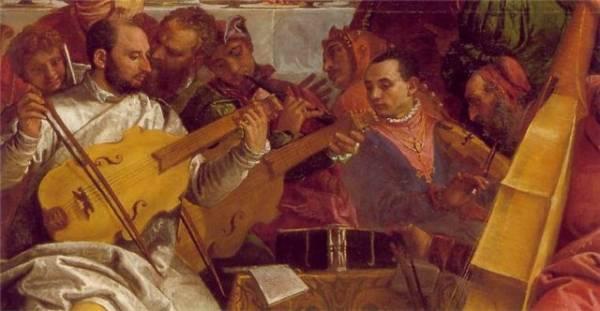 деталь «Брак в Кане Галилейской»