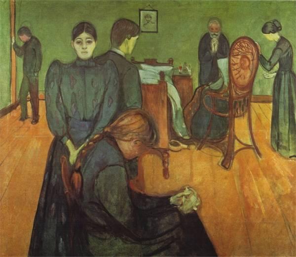 la chambre mortuaire