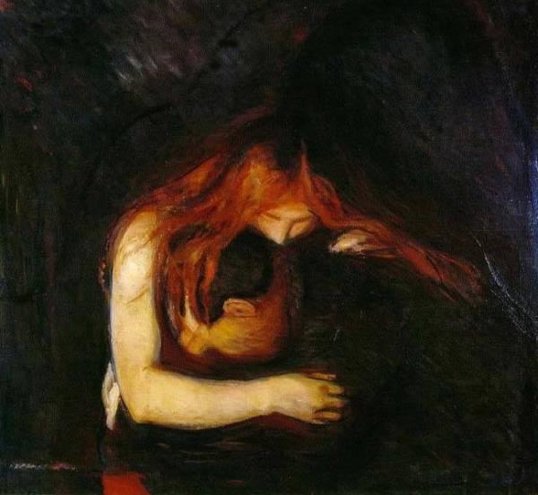 Вампир - 1897, Национальная галерея, Осло