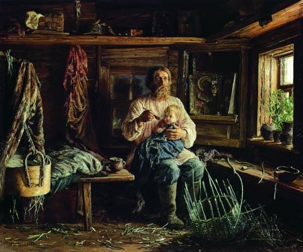 Слепой хозяин. 1884