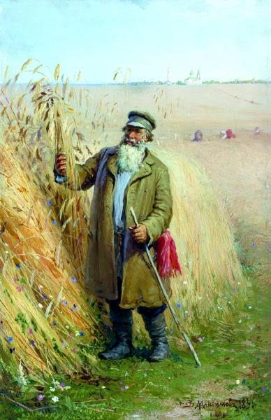 После обедни. 1891
