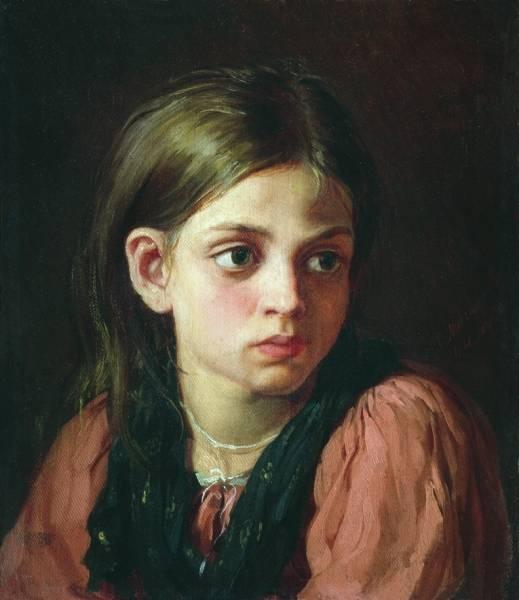 Девочка. 1866