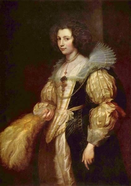 Portrat-der-Marie-Louise-de-Tassis