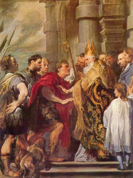 Hl-Ambrosius-und-Kaiser-Theodosius