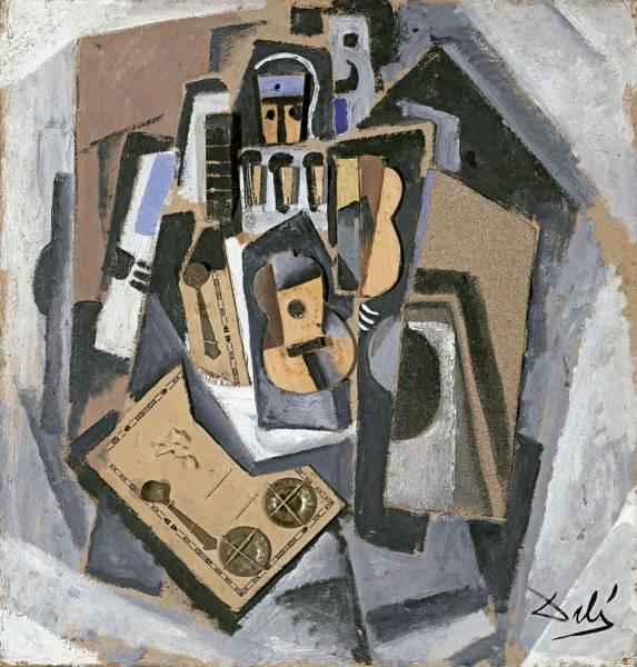 1923 (ок.) Пьеро с гитарой