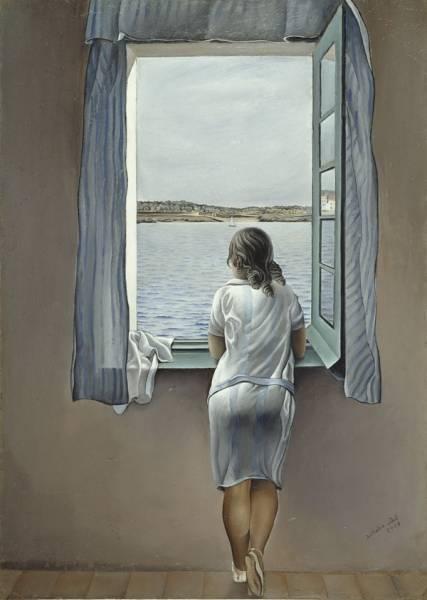 1925_Женщина в окне в Фигерасе