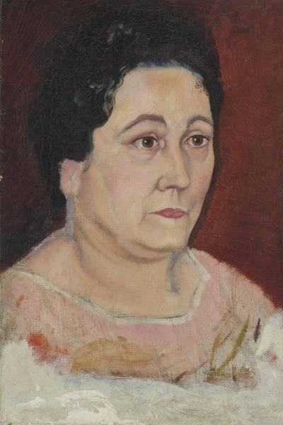 1920 Портрет матери художника доньи Фелипы Доменики де Дали