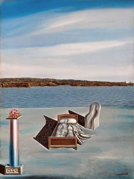 1936 (ок.) Сюрреалистическая композиция с невидимыми фигурами