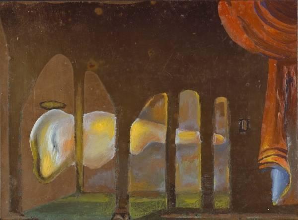 1981 Великий онанист появляется позади аркады