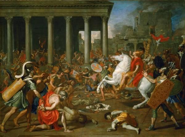 Завоевание Иерусалима императором Титом (1638)
