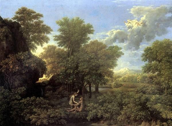Времена года. Весна или Земной рай (1660-1664) (118 х 160) (Париж, Лувр)