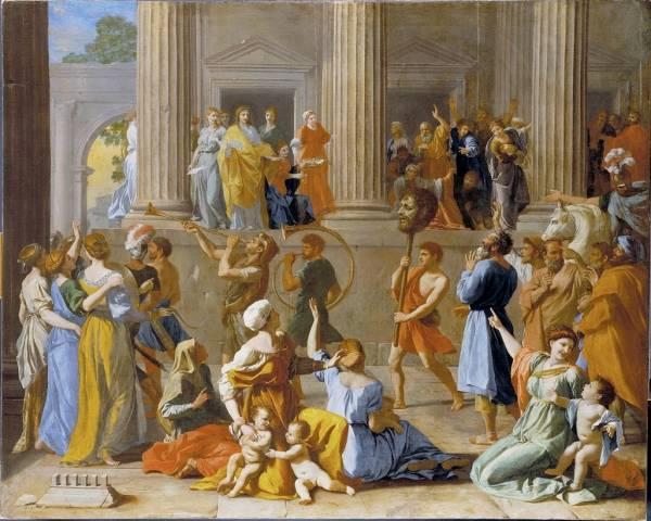 Триумф Давида (от 1628 до 1631)