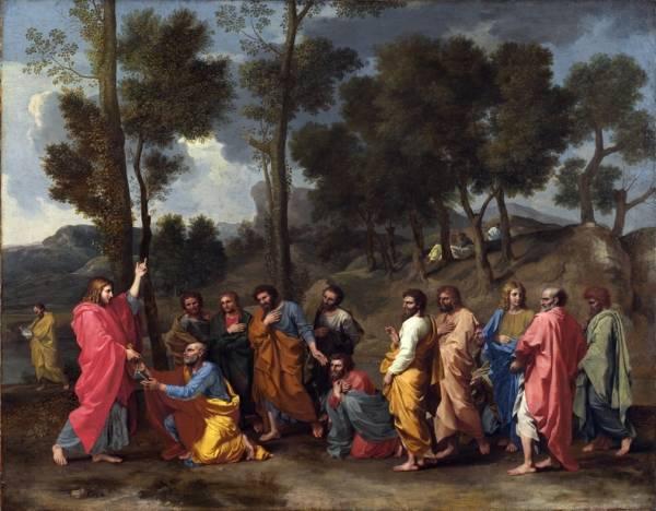 Вручение апостолу Петру ключей от рая (Лондон, Национальная галерея) (8,78 МБ)