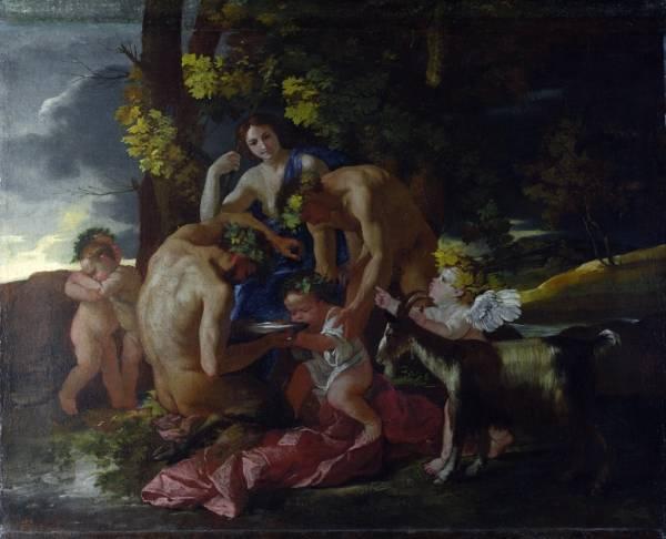 Воспитание Бахуса (ок.1628) (Лондон, Национальная галерея)