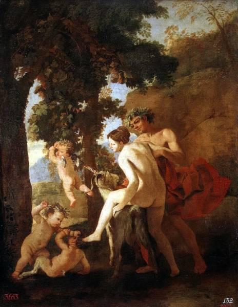 Венера, Фавн и путти (1630-е) (72 x 56) (С-Петербург, Эрмитаж)
