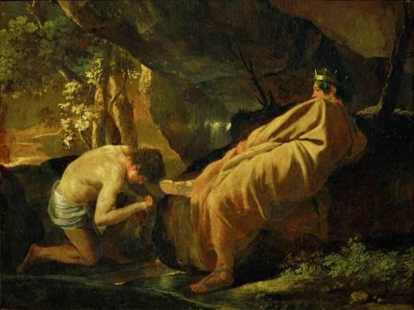 Мидас у истока реки Пактол (ок.1626-1627) (51 х 67) (Аяччо, Музей Fesch)