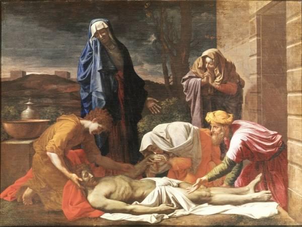 Оплакивание Христа (1657) (94 х 130) (Дублин, Нац. галерея)