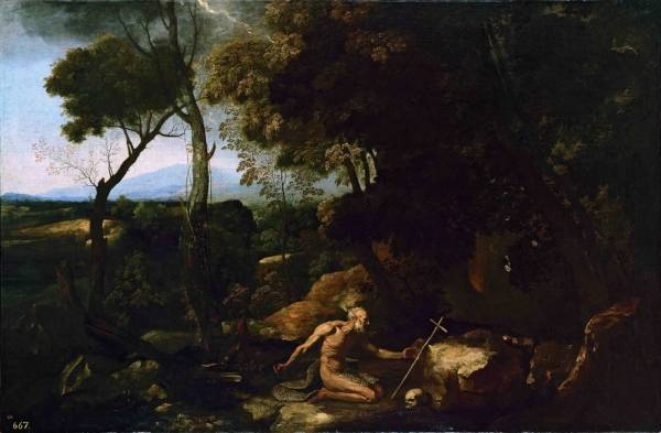 Пейзаж со св.Иеронимом (ок.1637)