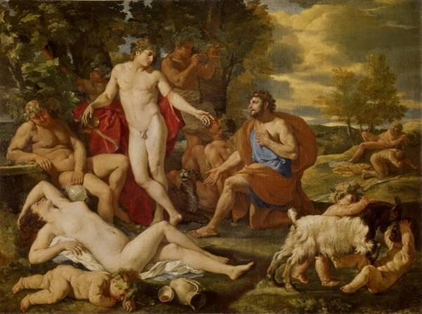 Вакх и Мидас (ок.1630)