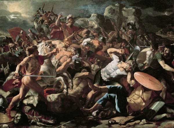 Битва Иисуса Навина с амореями (1625-1626) (97.5 x 134)
