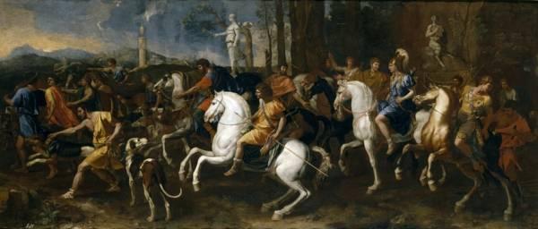 Аталанта и охота Мелеагра (1637-1638) (160 x 360) (Мадрид, Прадо).
