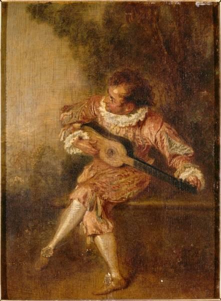 Меццетен (ок.1715) (24 х 17.5) (Шантильи, музей Конде)