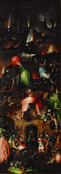 Триптих 'Страшный суд' (ок.1482) (167 х 60) (Вена, Галерея Академии изящ.искусств). Правая панель