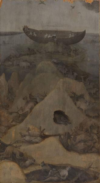 25.5.Земля после потопа (ок.1500) (69.5 х 38) (Роттердам, муз.Бойманс-ван-Бенинген)