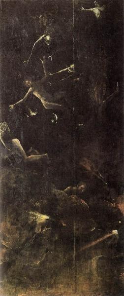 Низвержение грешников в ад