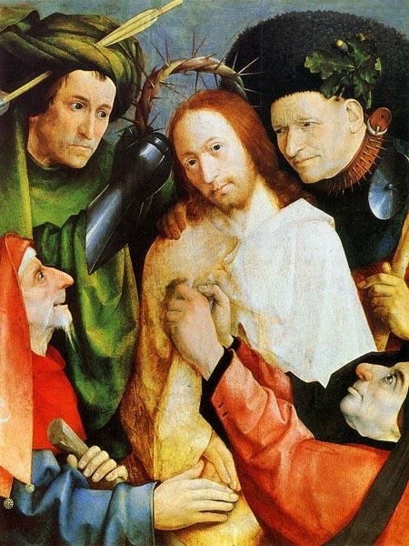 Увенчание терновым венцом (между 1493 и 1516) (73.5 х 59.1) (Лондон, Нац. галерея)
