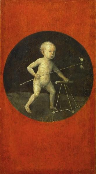 Ребёнок с ветряком (1490-е) (диаметр 29 см) (Вена, Музей истории искусств)