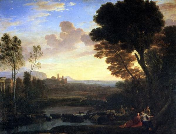 Пейзаж с Парисом и Эноной